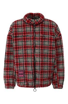Мужская куртка OFF-WHITE красного цвета, арт. 0MEA186E19E190022000 | Фото 1