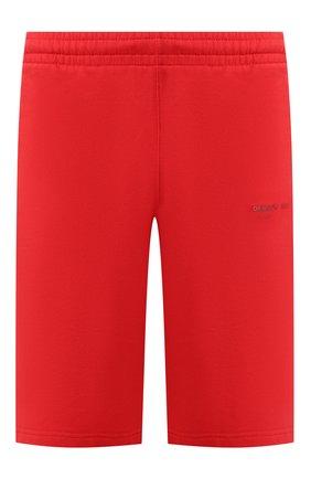 Мужские хлопковые шорты OFF-WHITE красного цвета, арт. 0MCI006E19E300032091 | Фото 1