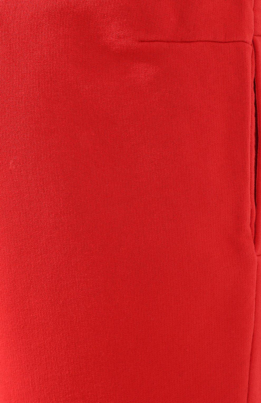 Мужские хлопковые шорты OFF-WHITE красного цвета, арт. 0MCI006E19E300032091 | Фото 5