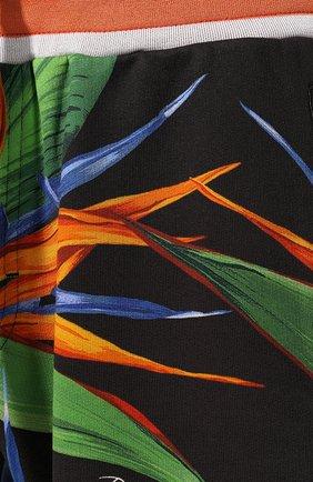 Мужские хлопковые шорты DOLCE & GABBANA зеленого цвета, арт. GYVAAT/HH7WD | Фото 5