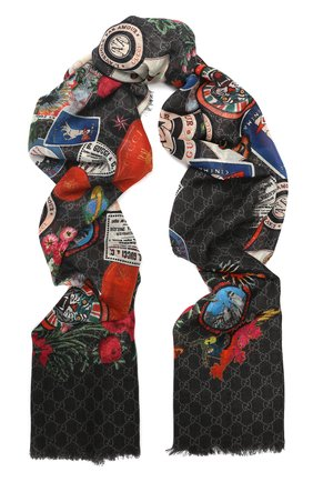 Шерстяной шарф | Фото №1