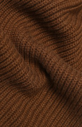 Мужской кашемировый шарф DOLCE & GABBANA коричневого цвета, арт. GX702T/JAW0V | Фото 2