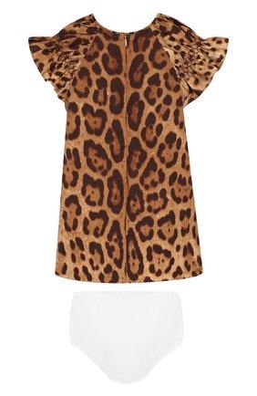 Женский комплект из платья и шорт DOLCE & GABBANA разноцветного цвета, арт. 0131/L25D45/FS5C5 | Фото 2