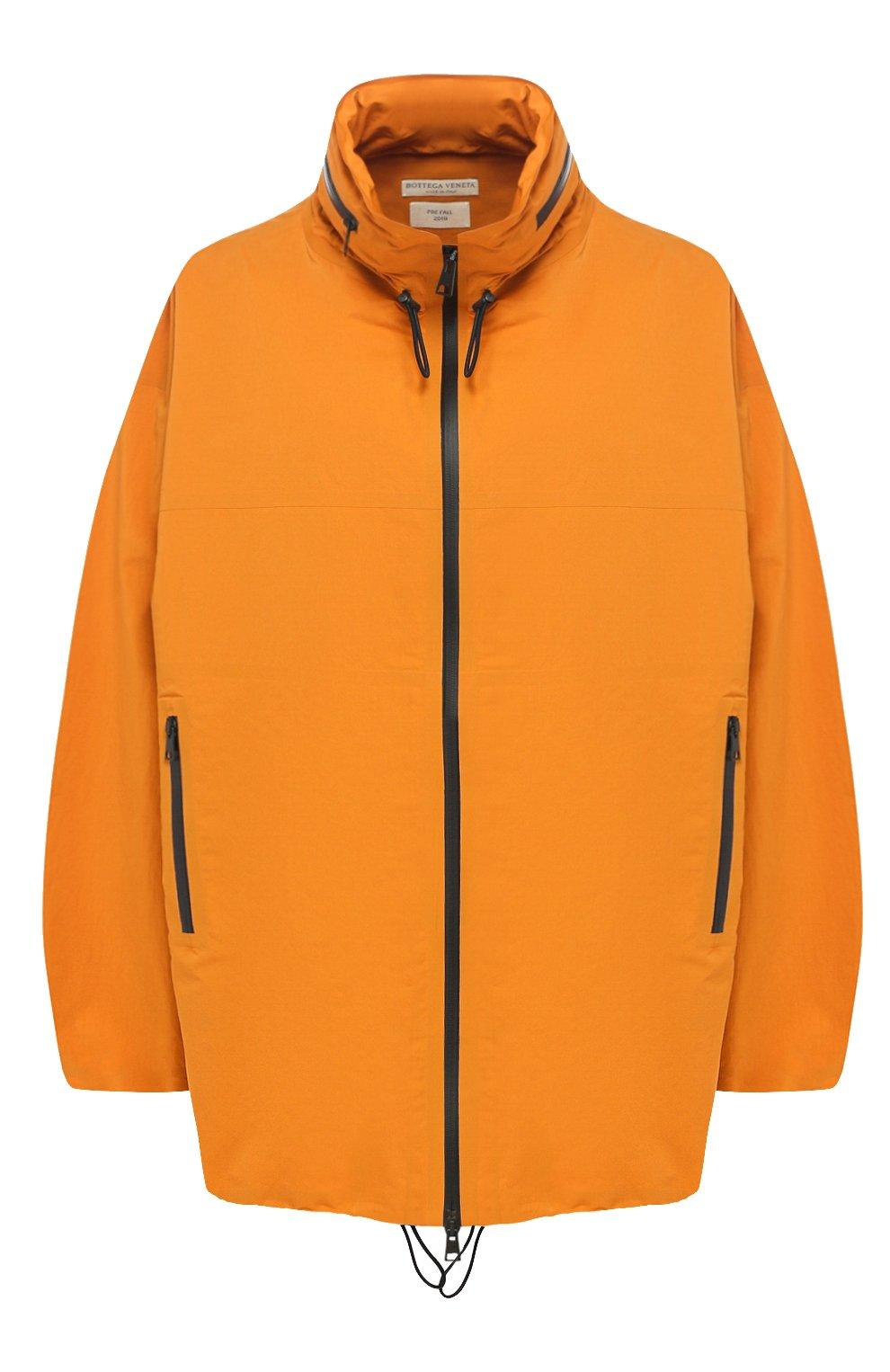 Женская куртка BOTTEGA VENETA оранжевого цвета, арт. 573035/VF4K0   Фото 1