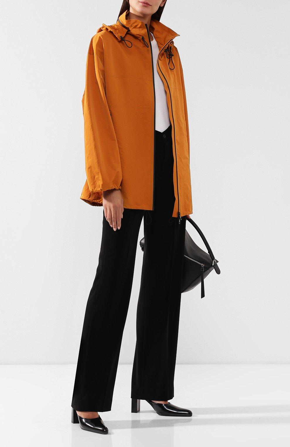 Женская куртка BOTTEGA VENETA оранжевого цвета, арт. 573035/VF4K0   Фото 2