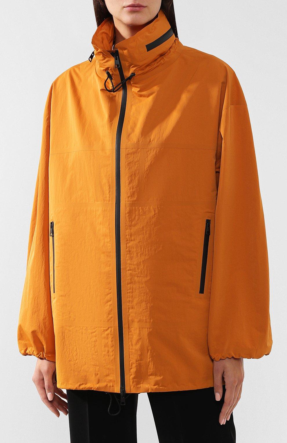 Женская куртка BOTTEGA VENETA оранжевого цвета, арт. 573035/VF4K0   Фото 3