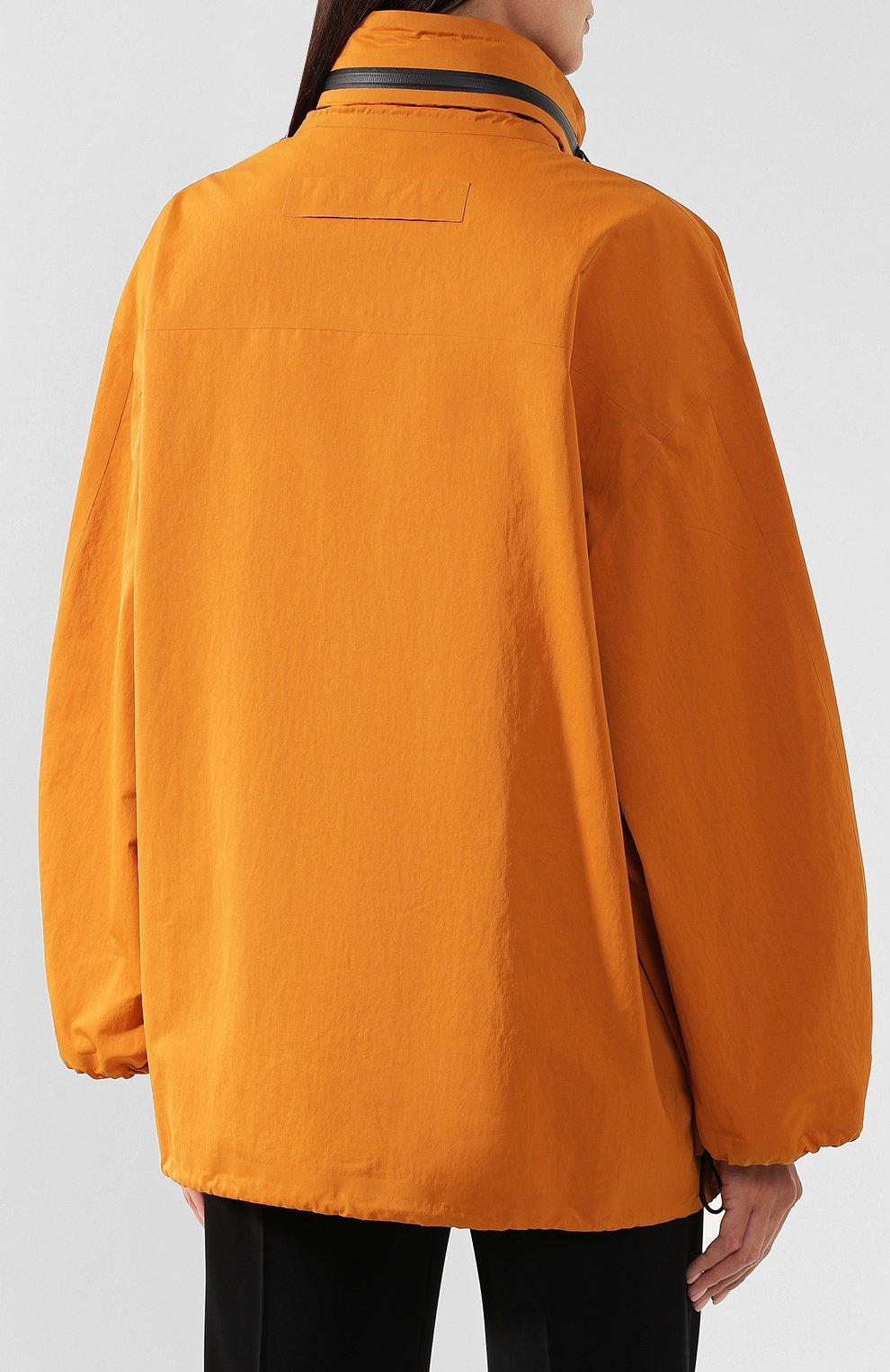 Женская куртка BOTTEGA VENETA оранжевого цвета, арт. 573035/VF4K0   Фото 4