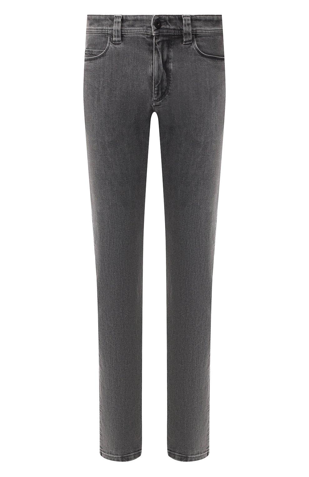 Мужские джинсы LORO PIANA серого цвета, арт. FAI7884 | Фото 1