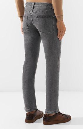 Мужские джинсы LORO PIANA серого цвета, арт. FAI7884 | Фото 4