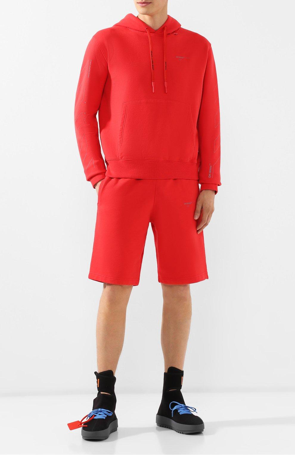 Мужские текстильные кроссовки cst-001 OFF-WHITE черного цвета, арт. 0MIA108E19B830241001 | Фото 2