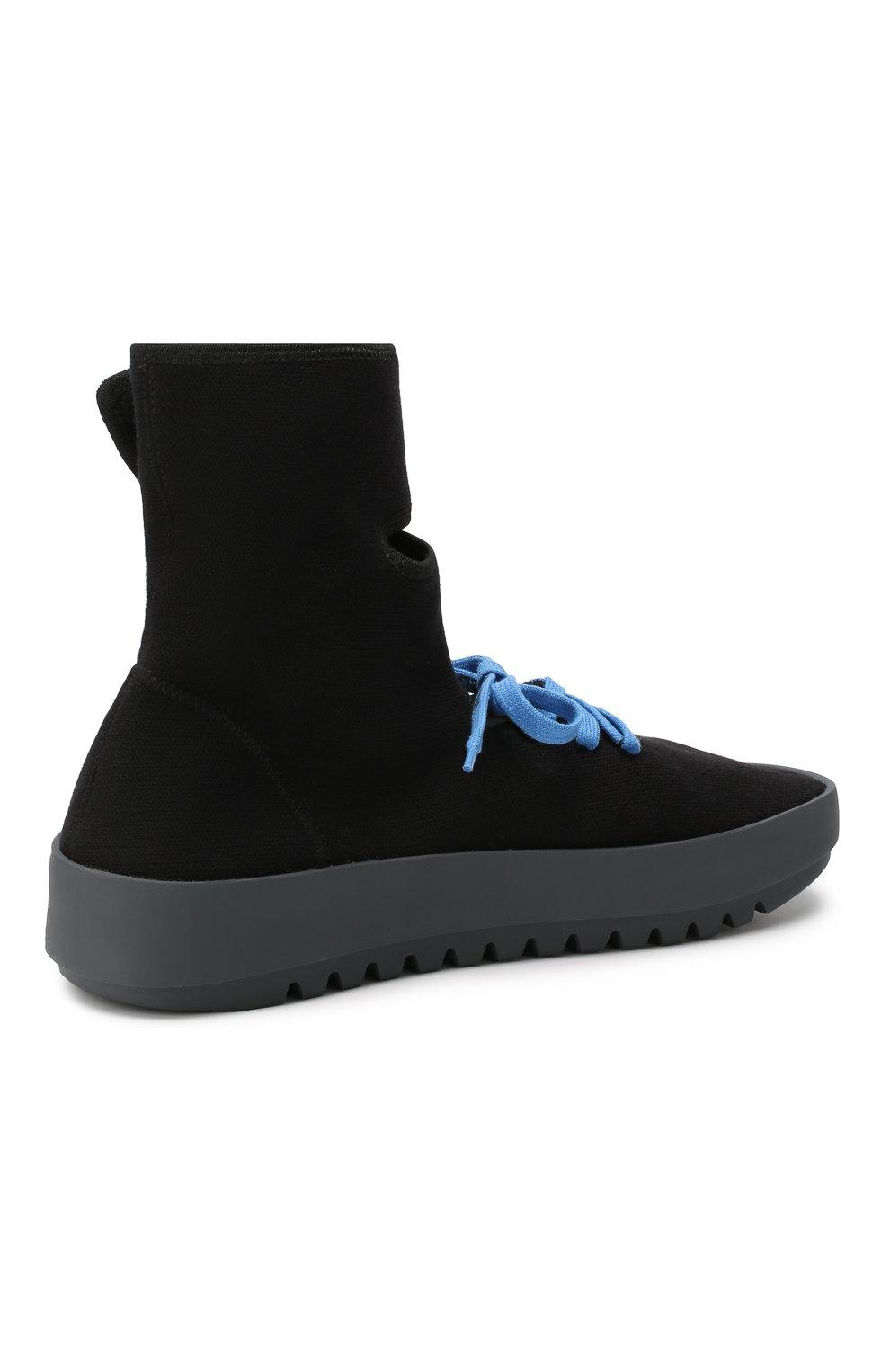 Мужские текстильные кроссовки cst-001 OFF-WHITE черного цвета, арт. 0MIA108E19B830241001 | Фото 4