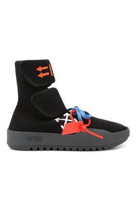 Мужские текстильные кроссовки cst-001 OFF-WHITE черного цвета, арт. 0MIA108E19B830241001 | Фото 6