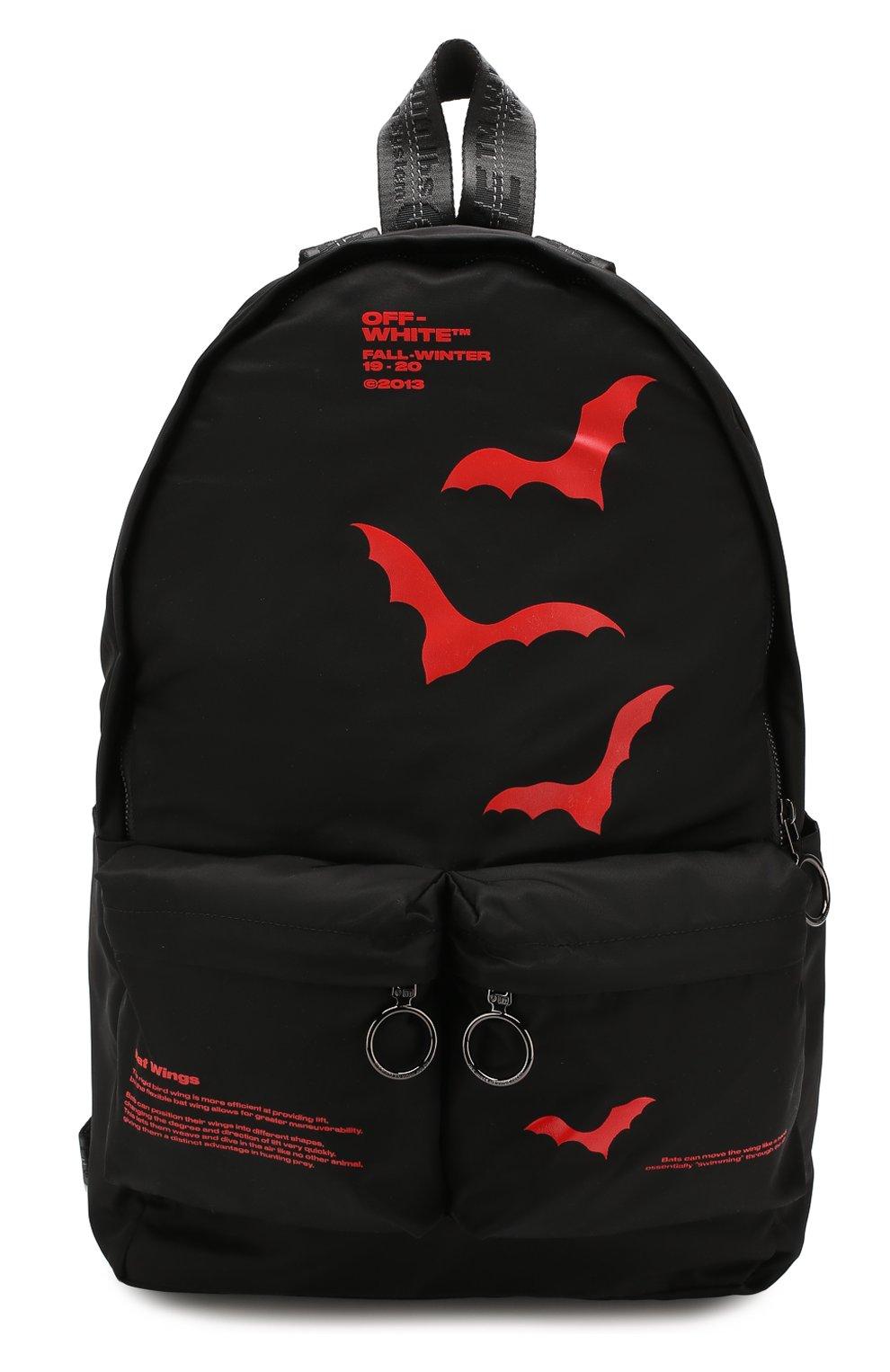 Мужской текстильный рюкзак OFF-WHITE черного цвета, арт. 0MNB003E19E480071020 | Фото 1
