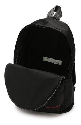 Мужской текстильный рюкзак OFF-WHITE черного цвета, арт. 0MNB003E19E480071020 | Фото 4