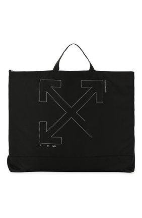 Мужская текстильная сумка OFF-WHITE черного цвета, арт. 0MNA054E19E240031091 | Фото 1