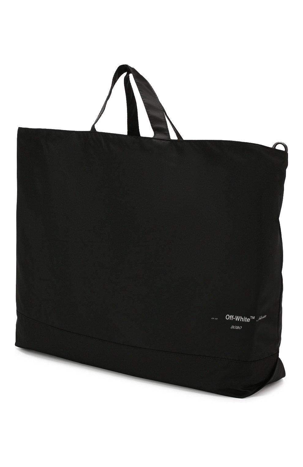 Мужская текстильная сумка OFF-WHITE черного цвета, арт. 0MNA054E19E240031091 | Фото 3