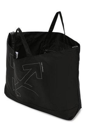 Мужская текстильная сумка OFF-WHITE черного цвета, арт. 0MNA054E19E240031091 | Фото 4