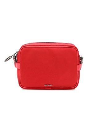 Мужская сумка OFF-WHITE красного цвета, арт. 0MNA049E19E480022000 | Фото 1