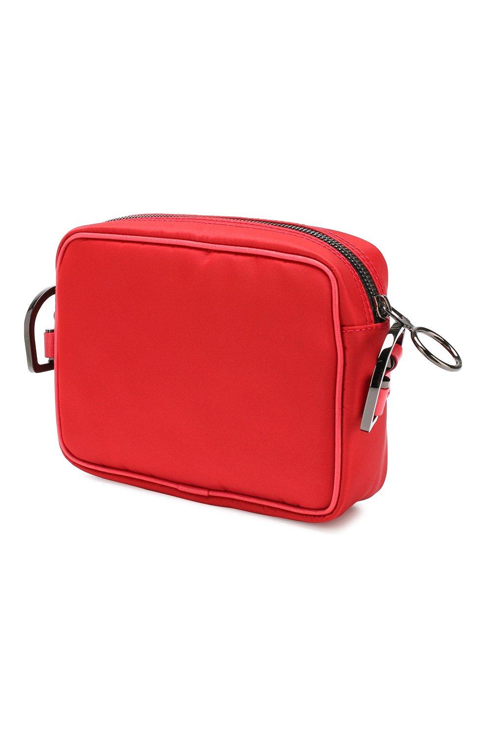 Мужская сумка OFF-WHITE красного цвета, арт. 0MNA049E19E480022000 | Фото 3