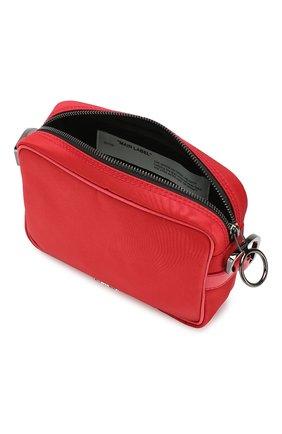 Мужская сумка OFF-WHITE красного цвета, арт. 0MNA049E19E480022000 | Фото 4