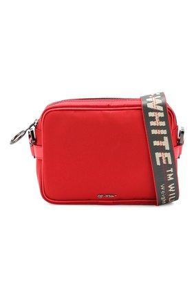 Мужская сумка OFF-WHITE красного цвета, арт. 0MNA049E19E480022000 | Фото 5