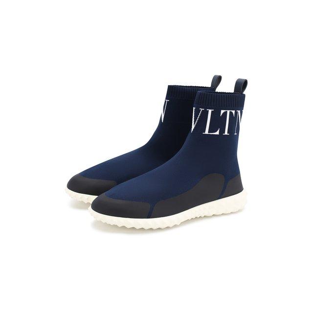 Текстильные кроссовки Valentino Garavani VLTN Valentino — Текстильные кроссовки Valentino Garavani VLTN
