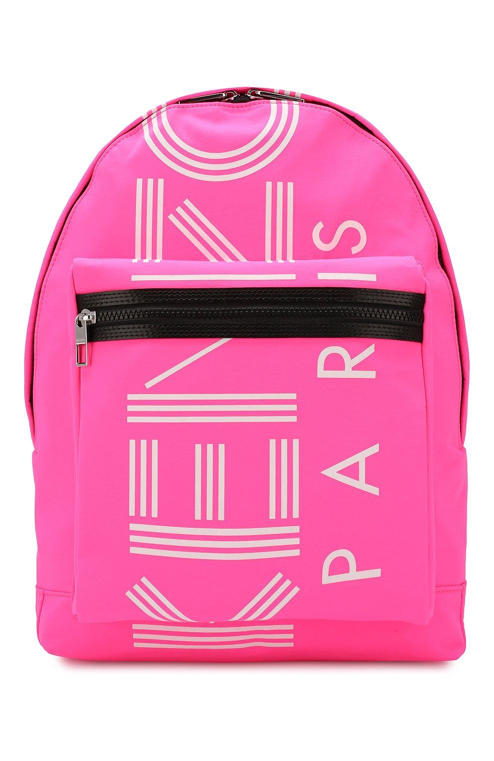 Женский рюкзак KENZO фуксия цвета, арт. F855SF213F24 | Фото 1
