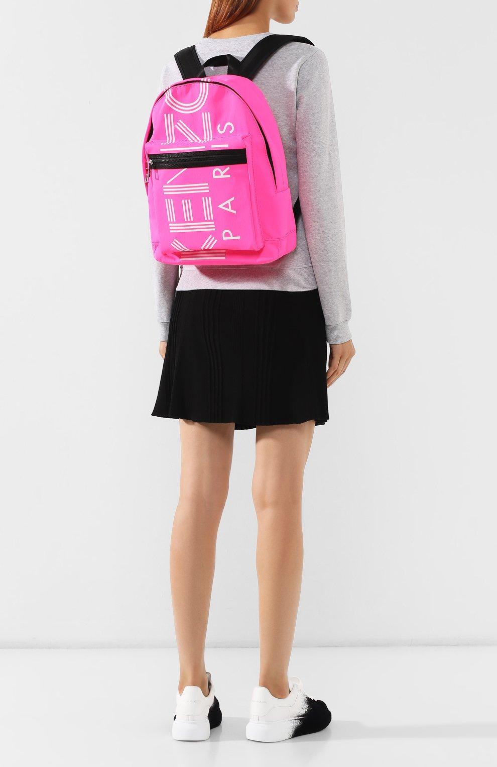 Женский рюкзак KENZO фуксия цвета, арт. F855SF213F24 | Фото 2