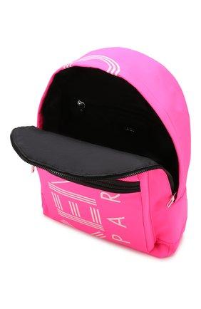 Женский рюкзак KENZO фуксия цвета, арт. F855SF213F24 | Фото 4