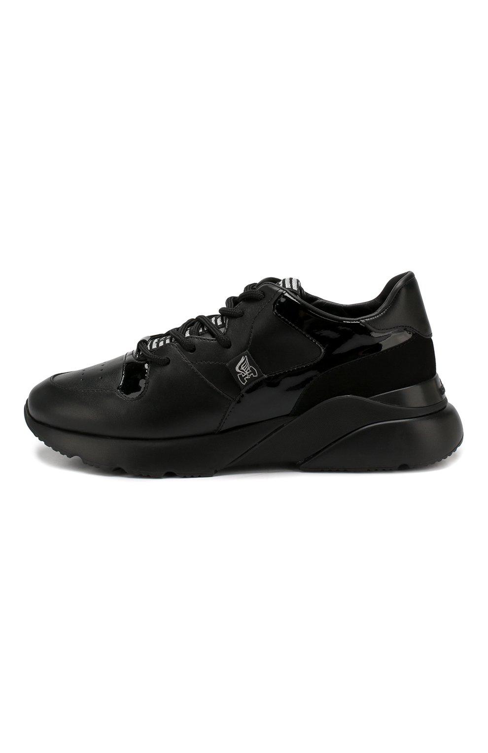Кожаные кроссовки | Фото №3