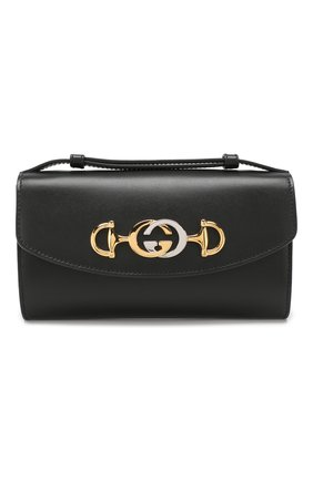 Женская сумка gucci zumi mini GUCCI черного цвета, арт. 564718/05J0X | Фото 1