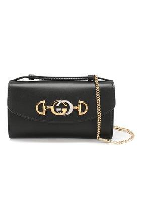 Женская сумка gucci zumi mini GUCCI черного цвета, арт. 564718/05J0X | Фото 6