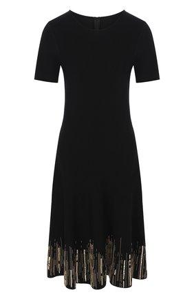 Платье из смеси вискозы и хлопка   Фото №1