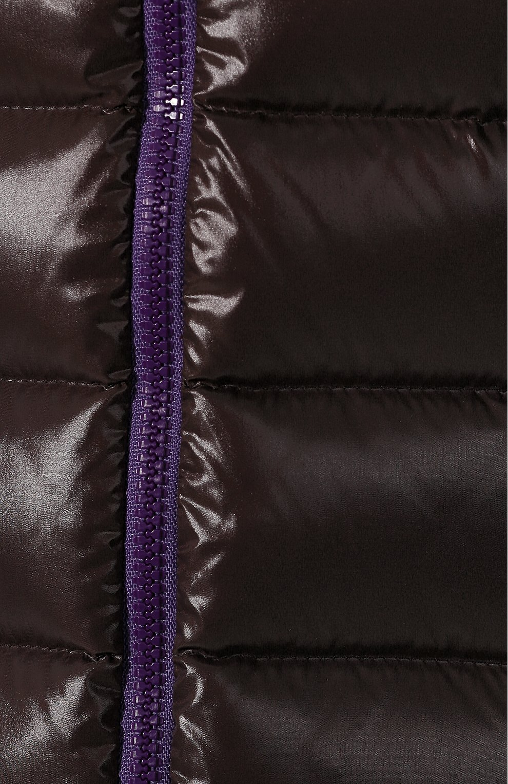 Женский пуховая куртка badyfur MONCLER коричневого цвета, арт. E2-093-46314-25-C0061   Фото 5