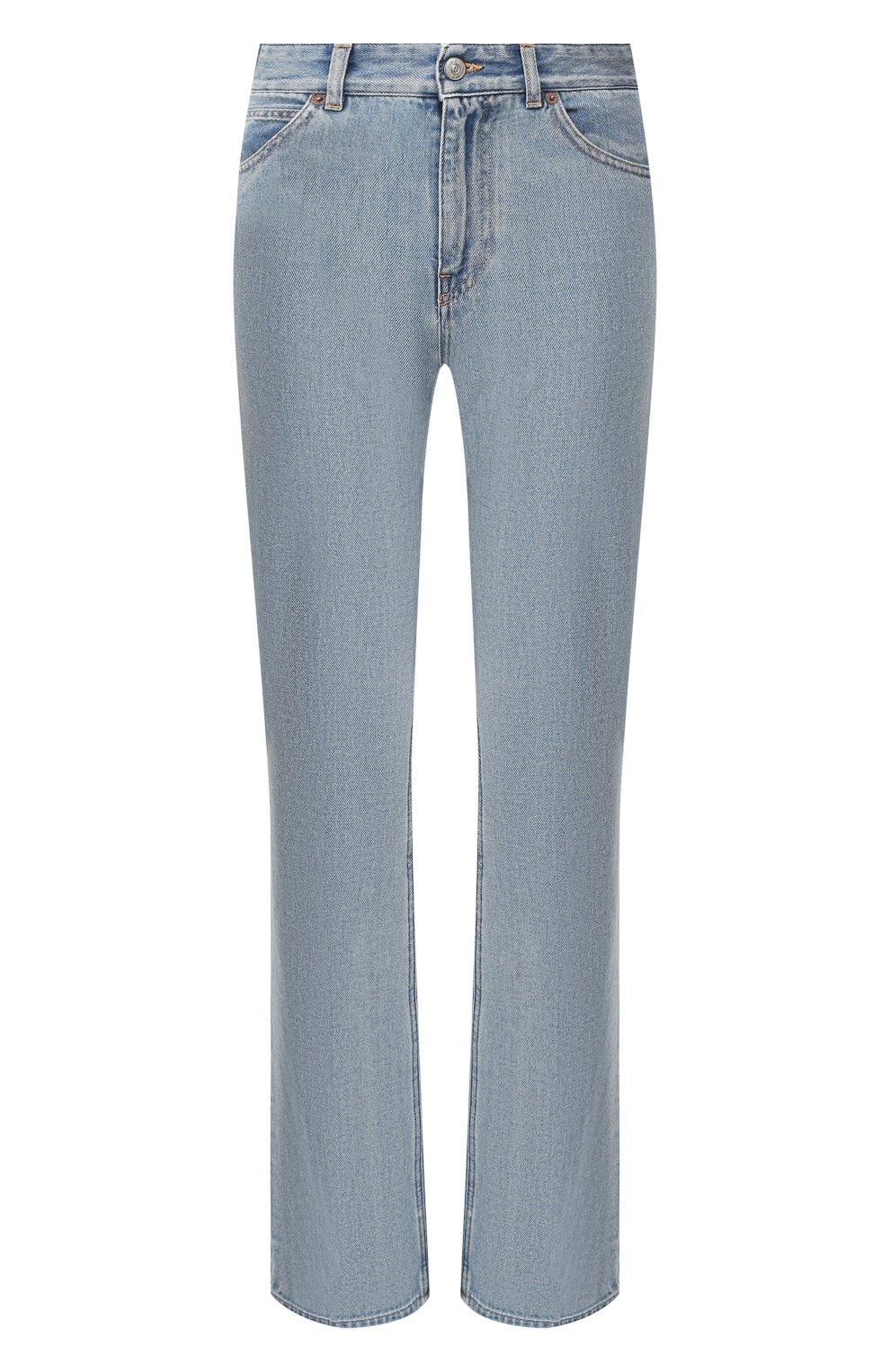 Женские джинсы MM6 голубого цвета, арт. S52LA0095/S30460   Фото 1