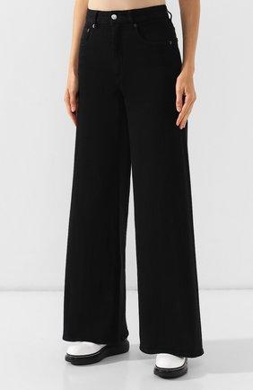 Женские джинсы MM6 черного цвета, арт. S52LA0094/S30660 | Фото 3