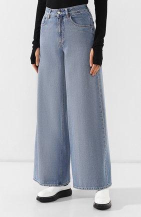 Женские джинсы MM6 голубого цвета, арт. S52LA0094/S30460 | Фото 3