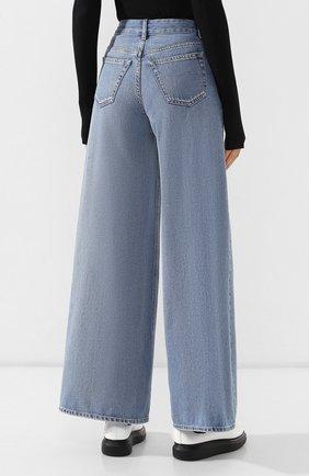 Женские джинсы MM6 голубого цвета, арт. S52LA0094/S30460 | Фото 4