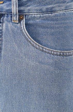 Женские джинсы MM6 голубого цвета, арт. S52LA0094/S30460 | Фото 5