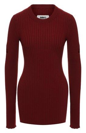 Пуловер с разрезами | Фото №1