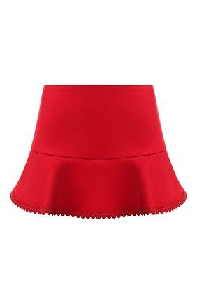 Женские юбка-шорты REDVALENTINO красного цвета, арт. SR3RFB75/1Y1 | Фото 1