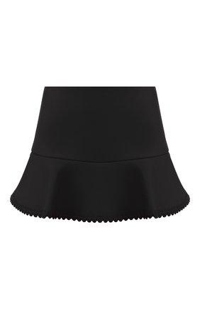 Женские юбка-шорты REDVALENTINO черного цвета, арт. SR3RFB75/1Y1 | Фото 1