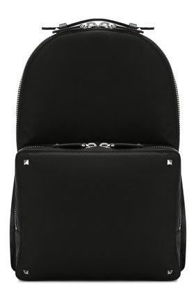 Мужской текстильный рюкзак valentino garavani vltn VALENTINO черного цвета, арт. SY2B0340/RPY | Фото 1