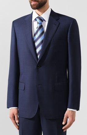 Мужской шерстяной костюм BRIONI синего цвета, арт. RAH00L/08A3A/PARLAMENT0 | Фото 2