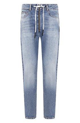 Мужские джинсы PALM ANGELS синего цвета, арт. PMYA013E196380067900 | Фото 1