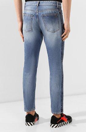 Мужские джинсы PALM ANGELS синего цвета, арт. PMYA013E196380067900 | Фото 4
