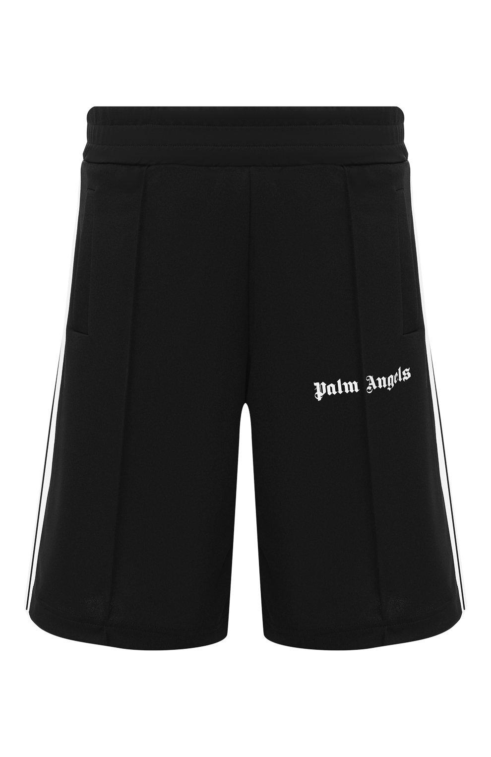 Мужские шорты PALM ANGELS черного цвета, арт. PMCB011E193840021001 | Фото 1