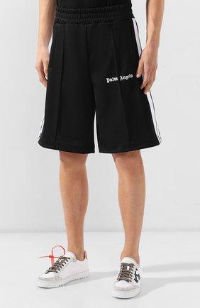Мужские шорты PALM ANGELS черного цвета, арт. PMCB011E193840021001 | Фото 3