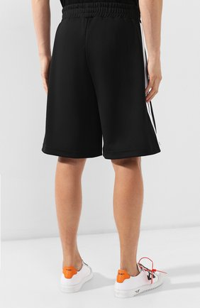 Мужские шорты PALM ANGELS черного цвета, арт. PMCB011E193840021001 | Фото 4