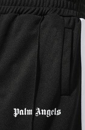 Мужские шорты PALM ANGELS черного цвета, арт. PMCB011E193840021001 | Фото 5